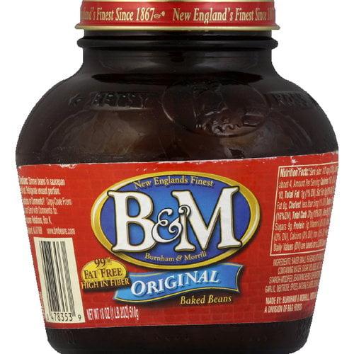 B&M Original Baked Beans, 18 oz (Pack of 12)