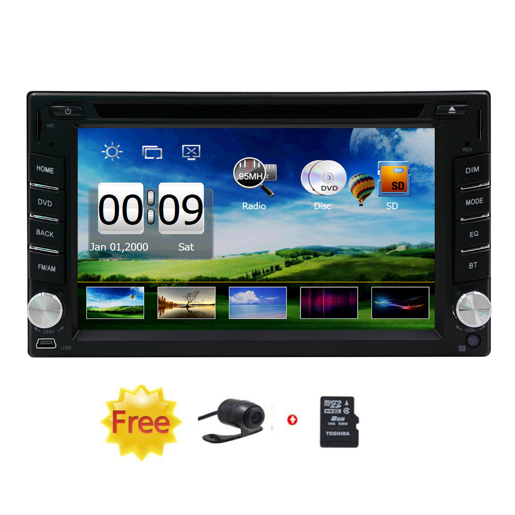 Eincar hot selling product 6.2-inch Double DIN Car Gps Navigation in Dash Car Dvd Player Car Stereo Touch... by EinCar