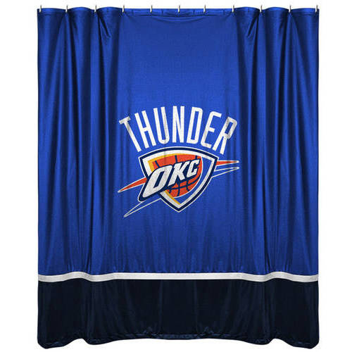 NBA Thunder Shower Curtain