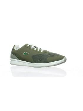 aa19248e818322 Product Image New Lacoste Mens Khaki Fashion Sneaker Size 8