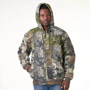 Mossy Oak Mountain Country Men's and Big Men's Insulated Bomber Jacket, up to Size 3XL
