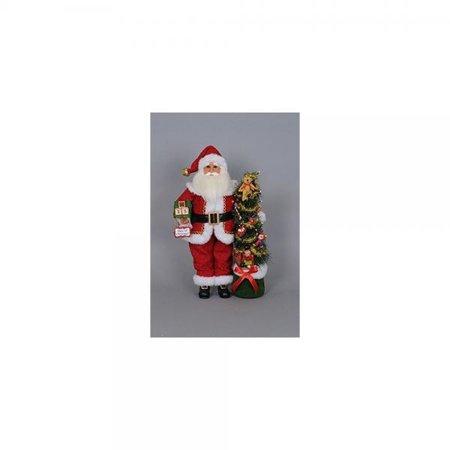 Karen Didion Wine Santa - Karen Didion Lighted Days 'Til Christmas Santa