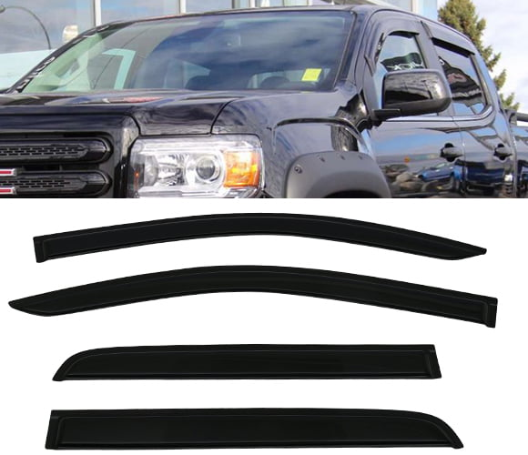 All American Auto Dark Smoke Acrylic Side Window Deflector
