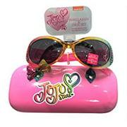 JoJo Siwa Bow Sunglasses &Hard shell Carrying Case Set - 100% UVA & Protection