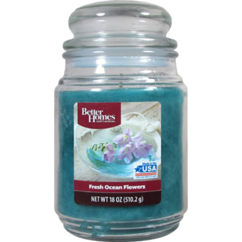 Better Homes And Gardens 18-Ounce Candle, Fresh Ocean Flowers