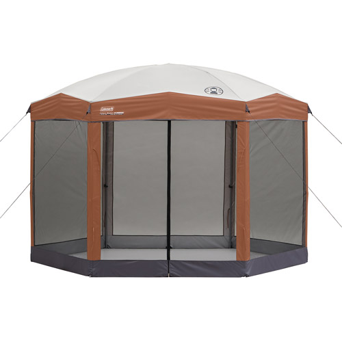 Coleman 12 x10 ft Hex Instant Screened Canopy/Gazebo  sc 1 st  Walmart & Coleman 12 x10 ft Hex Instant Screened Canopy/Gazebo - Walmart.com