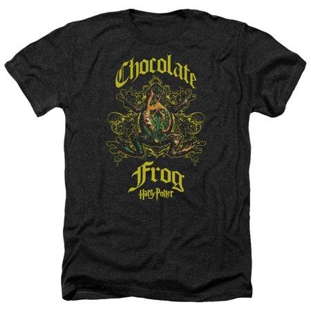 Harry London Chocolates - Harry Potter Chocolate Frog Mens Heather Shirt
