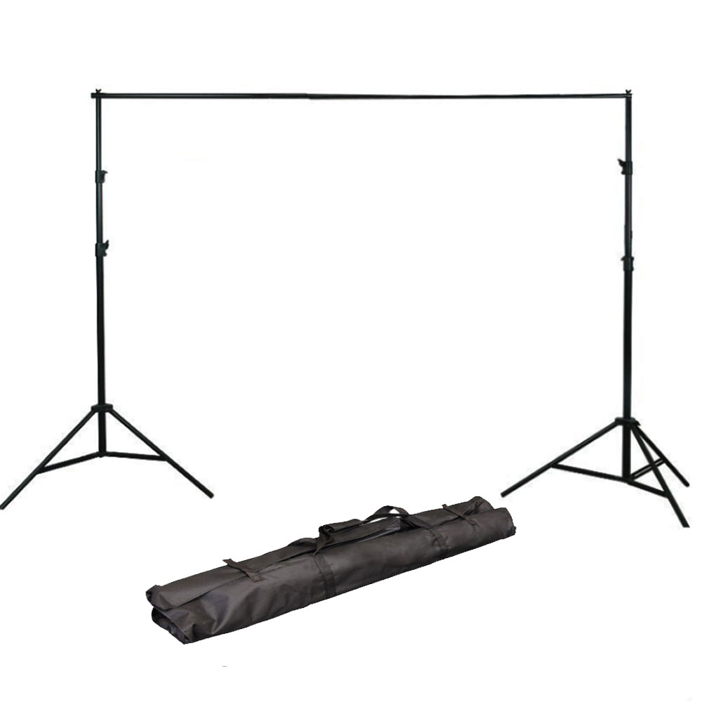 LimoStudio Photo Video Studio 10Ft Adjustable Muslin Background Backdrop Support System Stand, LIWA4