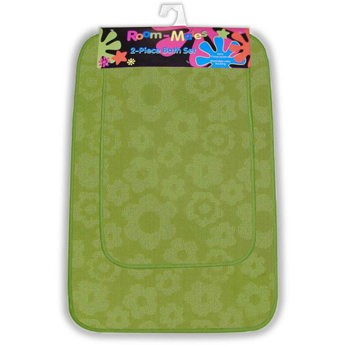 Flower Power 2pc Bath Rug Set