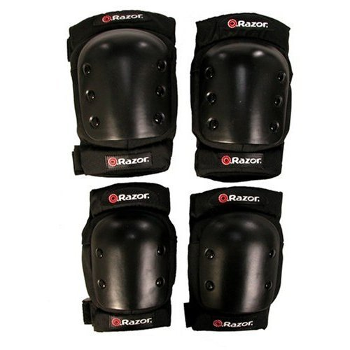Razor Child's, Multi-Sport Protective Pad Set, Black, For Ages 5-8