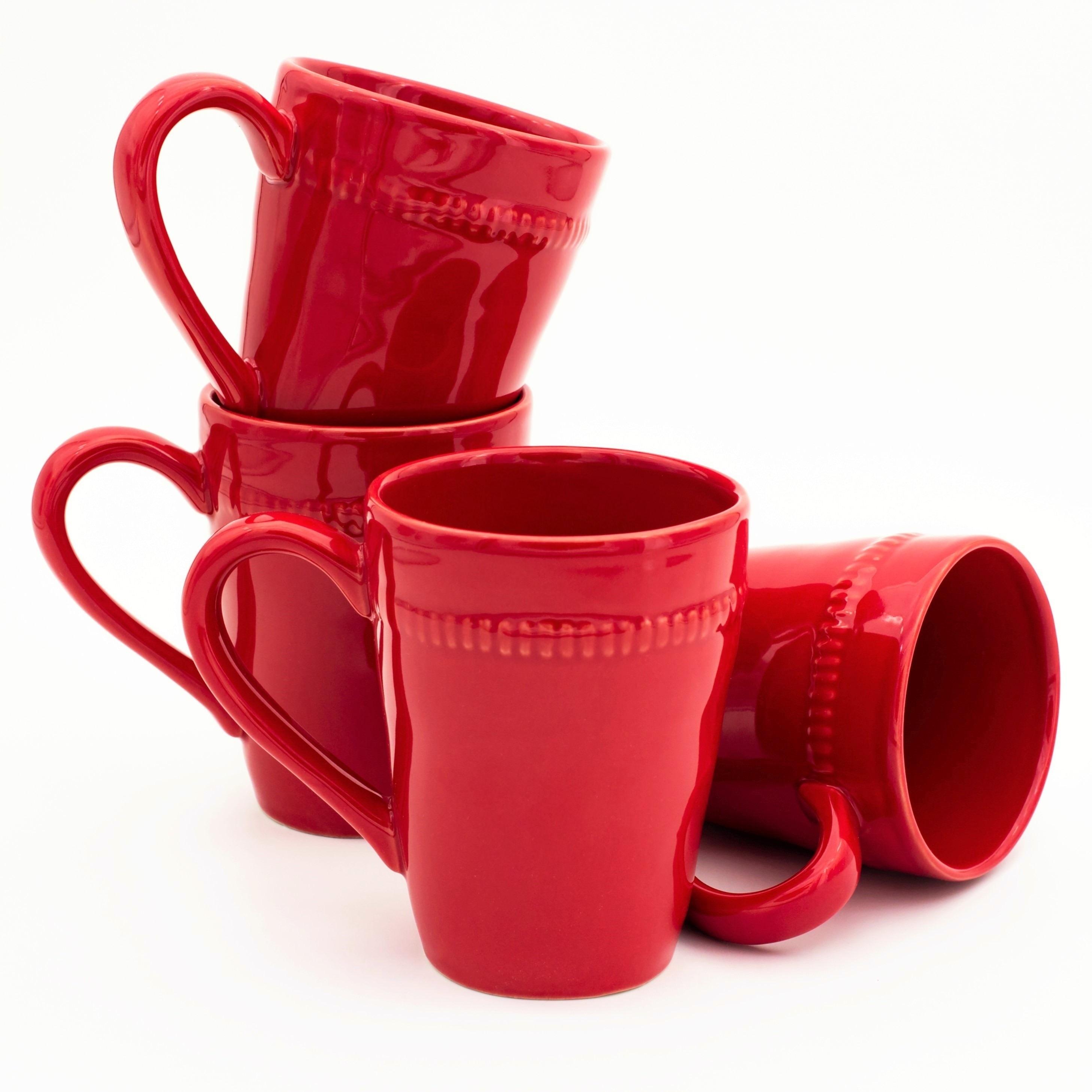 Euro Ceramica Inc. Euro Ceramica Algarve Mugs (Set of 4)