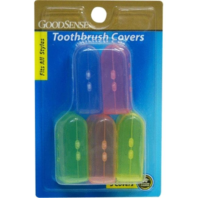Good Sense Toothbrush Covers, Pack of 5 - Case of 3