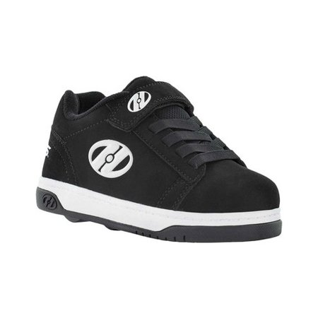 Heelys Dual Up X2 Black / White Ankle-High Fashion Sneaker - 2M