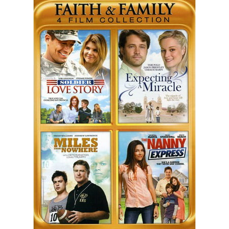 Faith and Family Collection: 4 Films (DVD) - Family Films For Halloween