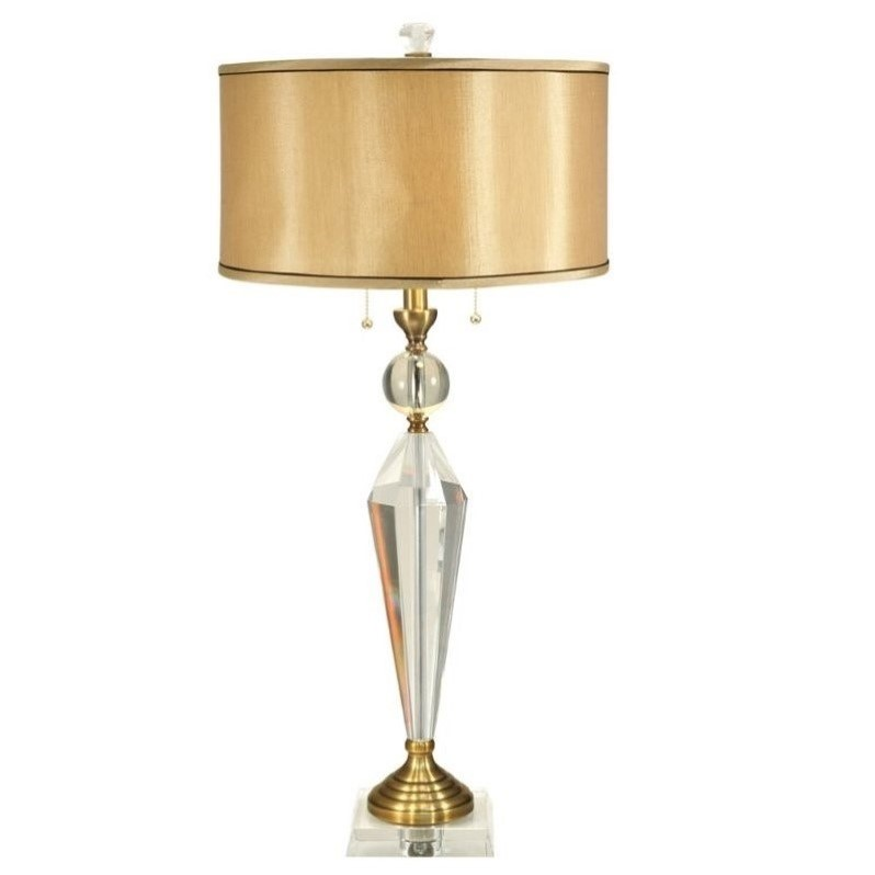 Dale tiffany strada crystal table lamp