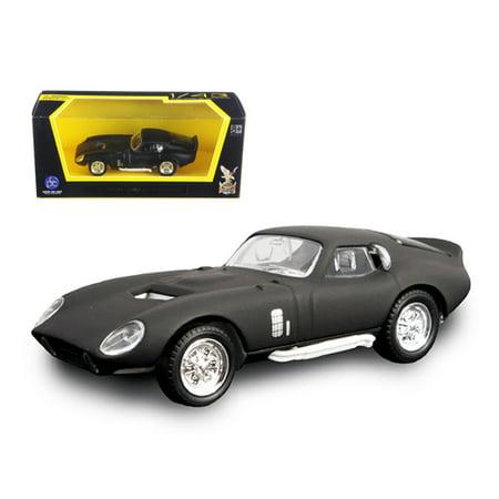 1965 Shelby Cobra Daytona Coupe Matt Black 1/43 Diecast Model Car by Road