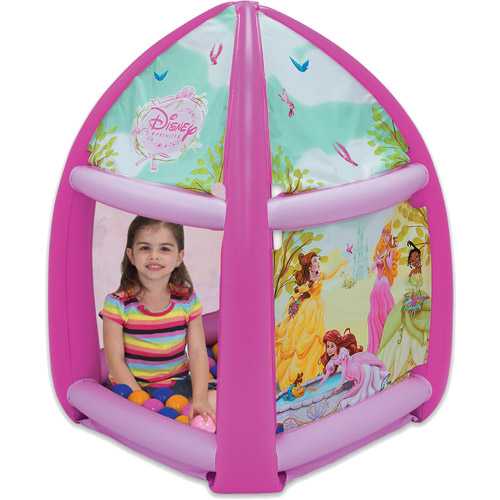 Disney Princess Beauty-in-Bloom Inflatable Ball Pit