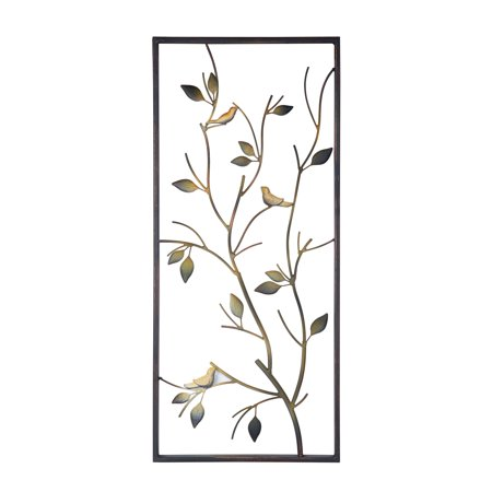 Elements 14 Inch X 31 Inch Metal Bird And Branch Wall Decor](Metal Bird Wall Decor)