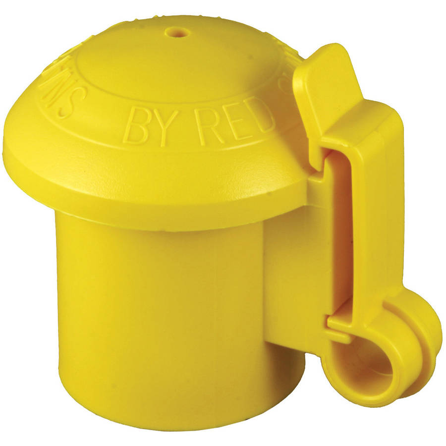 Zareba ITCPY-RS T-Post Insulators, Yellow, Pack of 10
