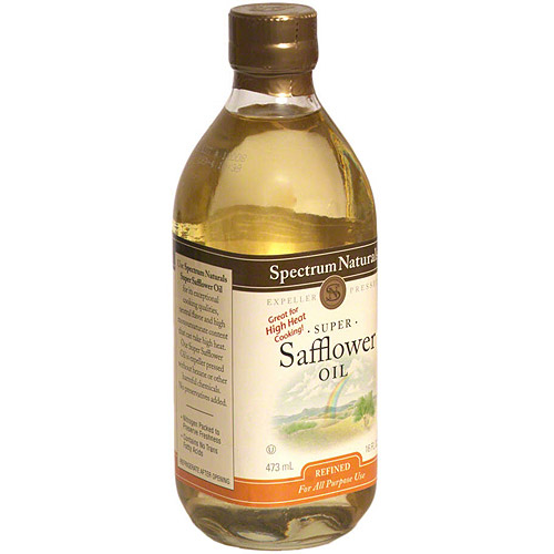 Spectrum Safflower Oil, 16 oz (Pack of 6)