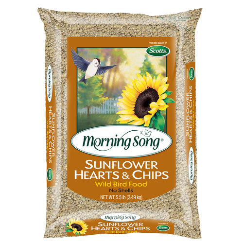 Morning Song 5.5lb Hearts and Chips Birdfeed