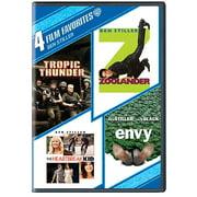 4 Film Favorites: Ben Stiller Tropic Thunder   Zoolander   The Heartbreak Kid   Envy (Widescreen) by WARNER HOME ENTERTAINMENT