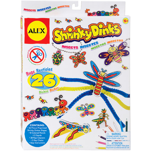 ALEX Toys - Shrinky Dinks Insects Kit, Bugs