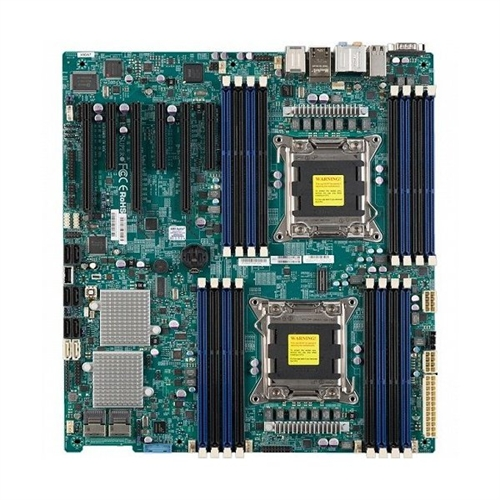 Supermicro Computer X9DAE Server Motherboard Intel C602 Chipset Socket R LGA-2011 1 x Retail Pack Extended by Supermicro Computer