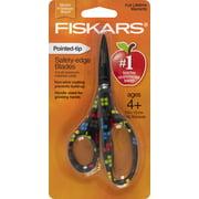 Fiskars Designer Non-stick Pointed-tip Kids Scissors 5 in - Tetris