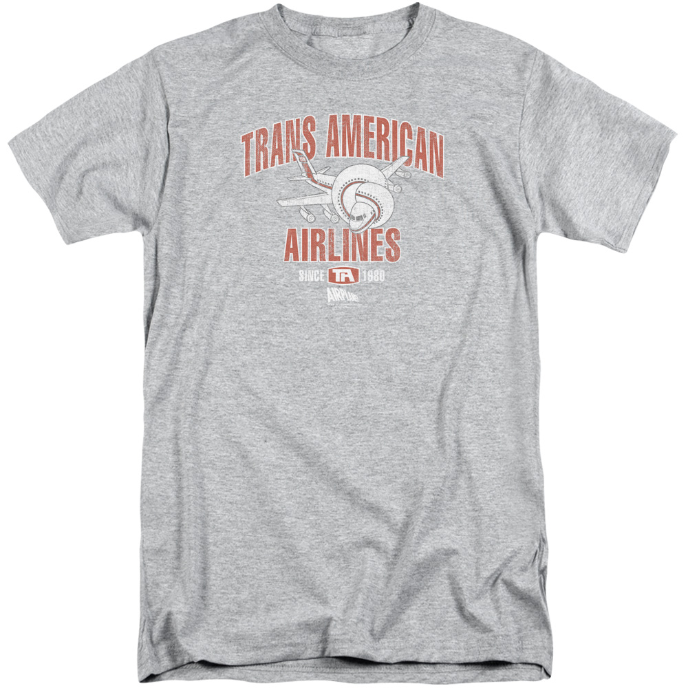 Airplane Trans American Mens Big and Tall Shirt