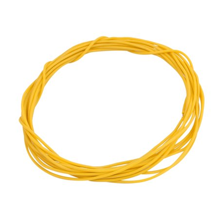 2 Meter 30AWG Yellow Gauge Flexible Stranded Copper Cable Silicone Wire for RC - image 2 of 3