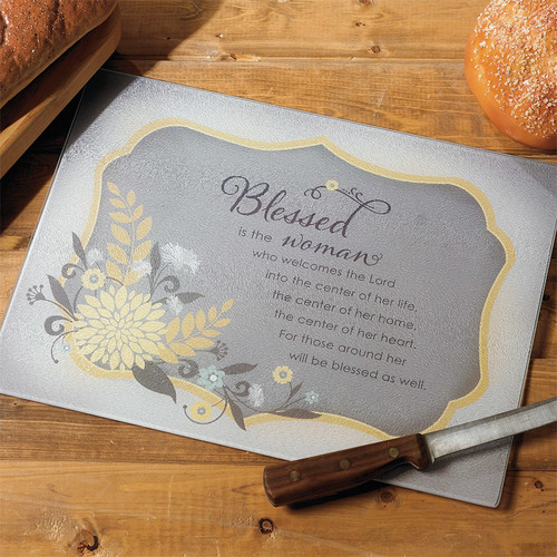Abbey Press Blessed Woman Cutting Board