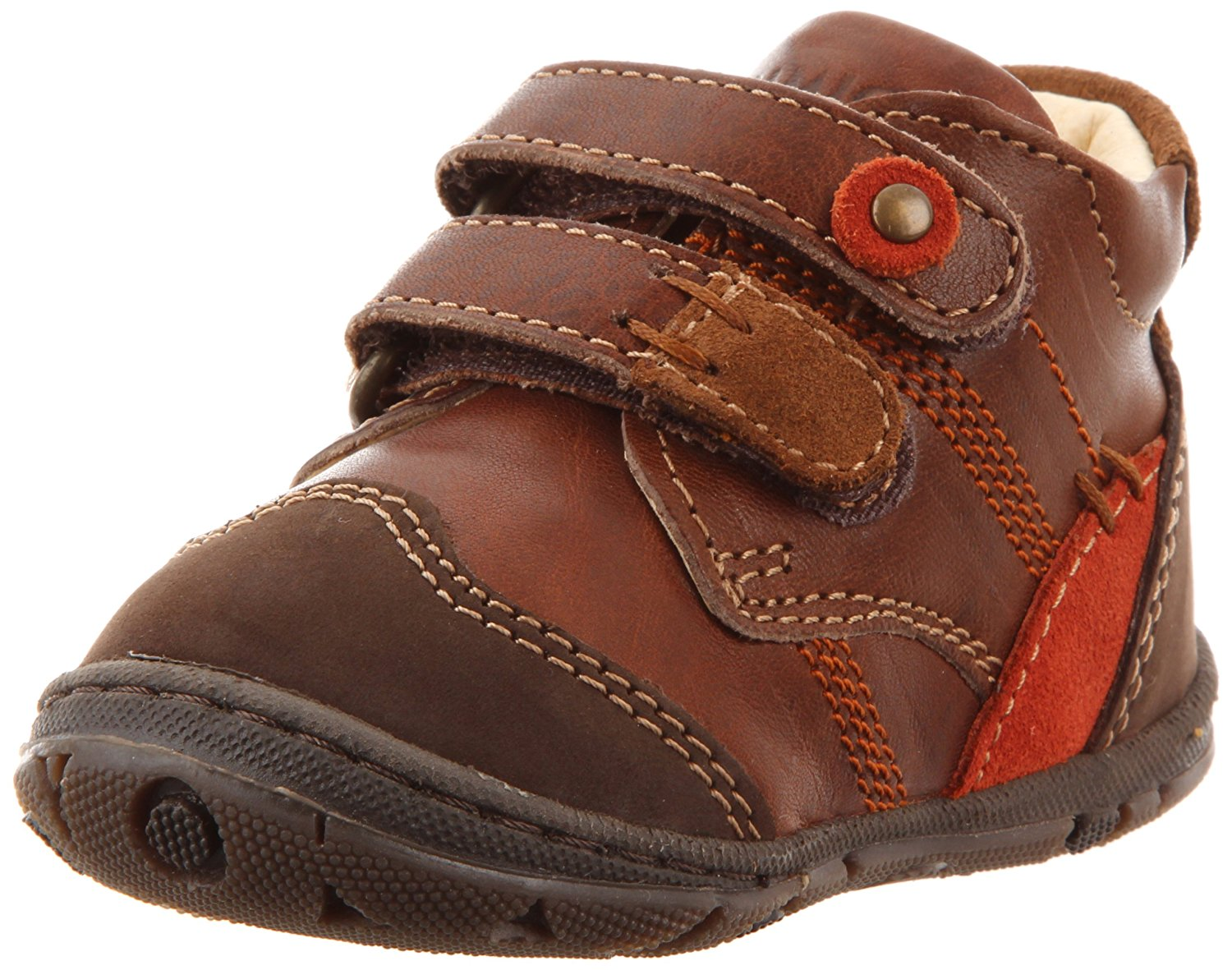 Alonso-E 7040177 First Walker (Infant Toddler),Marrone,18 EU (2.5 M US Toddler) By Primigi by