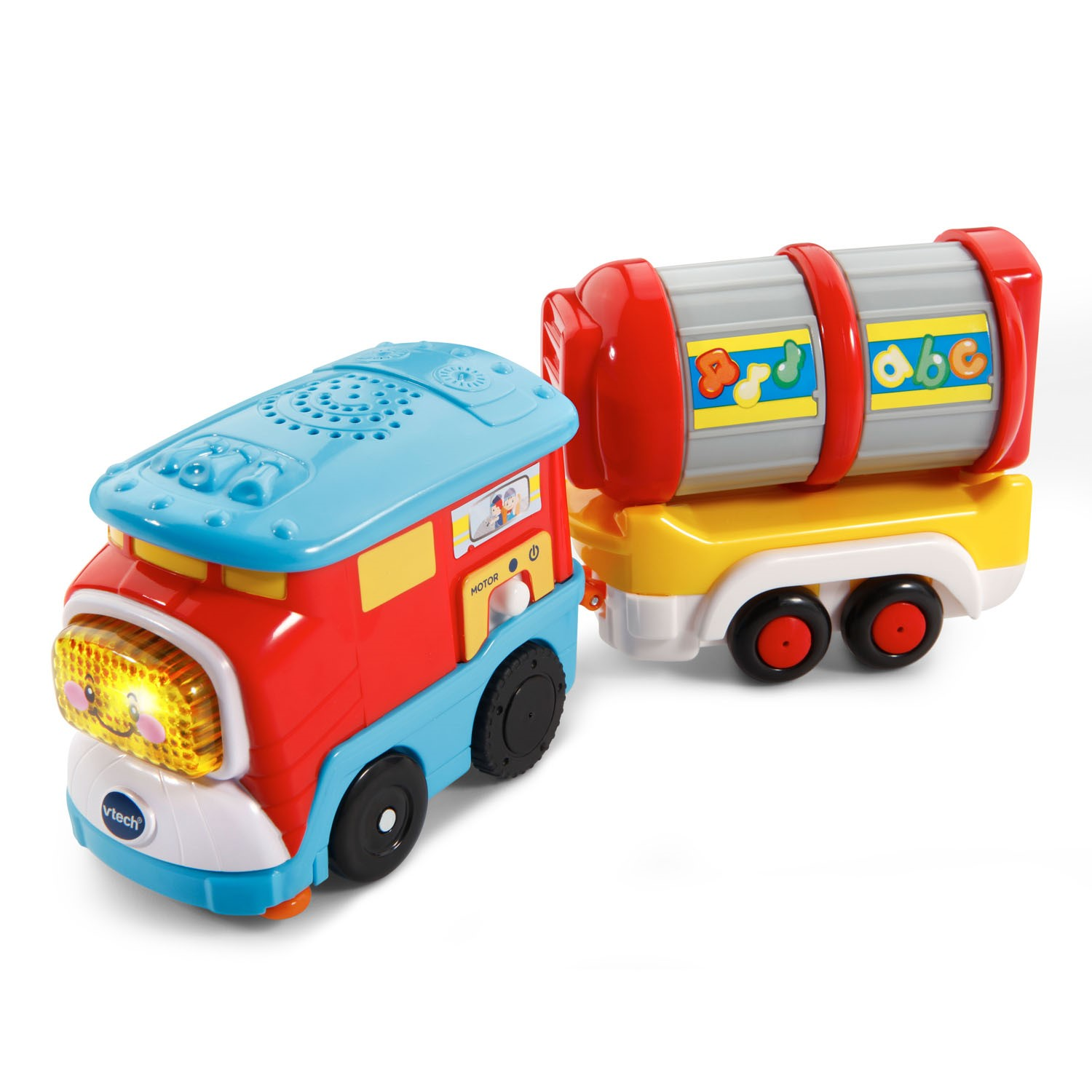 VTech Go! Go! Smart Wheels Freight Train with Tanker Car by VTech
