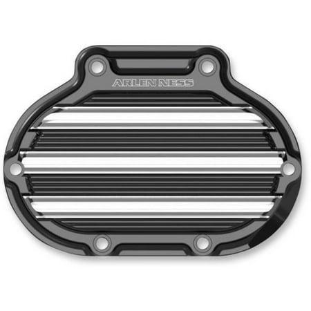 Arlen Ness 03-813 10-Gauge Transmission Side Cover - Black ()