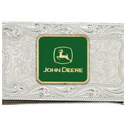 Montana Silversmiths Money Clip John Deere Silver Green MCL4-JD5F