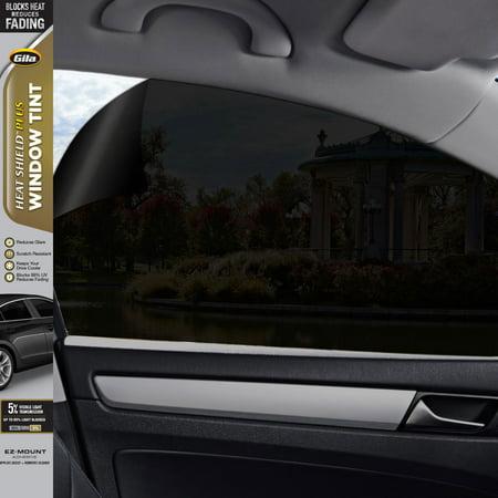 Gila® Heat Shield Plus 5% VLT Automotive Window Tint DIY Extra Heat Control Glare Control 2ft x 6.5ft (24in x (Shield Tine Rear)