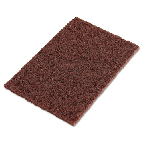 3M  MMM04801116553  Cleaning Supplies  Janitorial Supplies  Scouring Pads  ;Brown