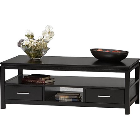 Sutton Black Coffee Table Walmartcom