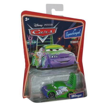 Disney Pixar Cars Wingo Supercharged Die-Cast Mattel Toy - Disney Toy Cars