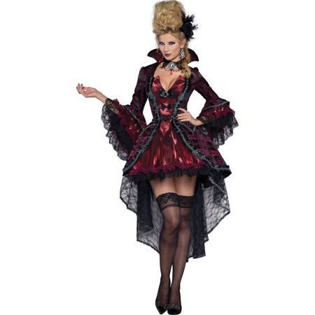 Victorian Vamp Women's Adult Halloween - Victorian Costumes For Adults