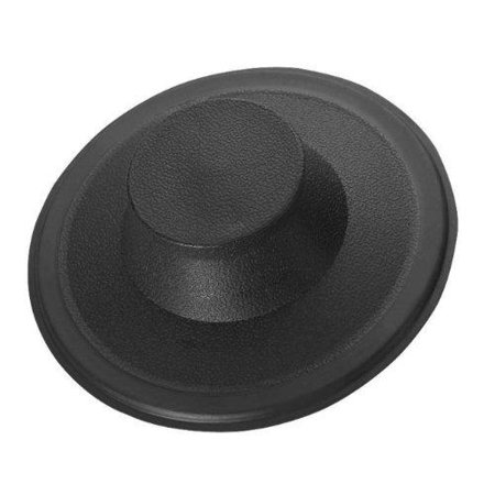 sink stopper black plastic kitchen sink garbage disposal drain stopper fits kohler insinkerator - Kitchen Sink Stopper