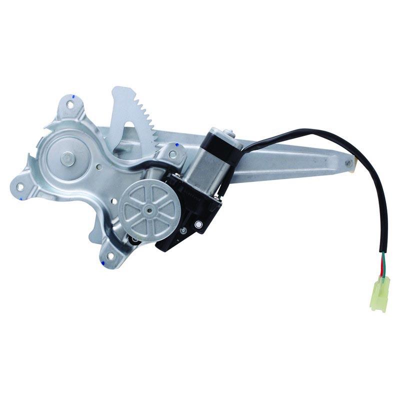 Passenger Side Rear Right Power Window Motor And Regulator