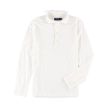 Ralph Lauren Mens Textured Rugby Polo Shirt