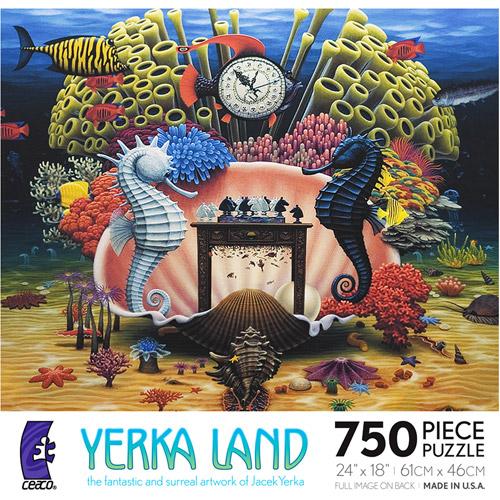 Ceaco - Jacek Yerka's Land Ecosystem Puzzle, 750 Pieces