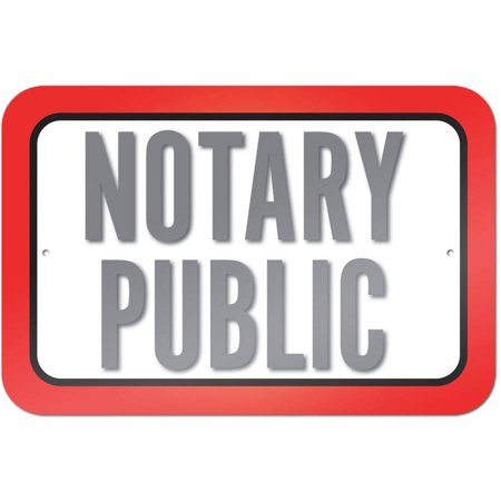 Notary Public Sign (Public Sign)