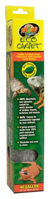 Zoo Med ET-40 Natural Green Eco Carpet, 40 gal, 15 Inch x 36 Inch by ZOO MED LABORATORIES INC