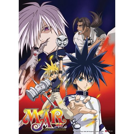 Wall Scroll   Mar   Good And Bad Anime Fabric Art Licensed Ge9868
