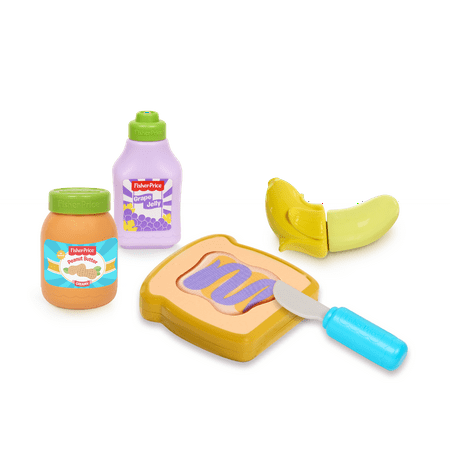 Fisher Price Toy Food (Fisher Price Food Set Peanut Butter and Jelly)