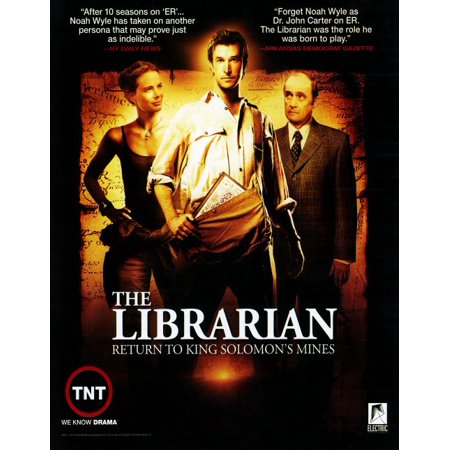 The Maine Forever Halloween Poster (The Librarian: Return to King Soloman's Mines POSTER (TV) Mini)
